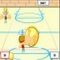 Ultimate Dodgeball - This ultimate dodgeball game consiss of 2 levels. Hit the opponent with the ball as hard as you can.