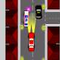 Starsky & Hutch - Avoid all obstacles in this simple street racing game