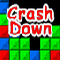 Crash Down - Remove group of block if they are of the same colour