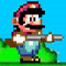 Mario Rampage - Help Mario to shoot at the enemies before they get to Mario