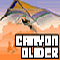 Canyon Glider - Collect points by going through each of the hoop with your glider