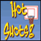 Hot Shots - shoot the basketballs into the moving basket before time runs out