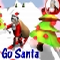 Go Santa - Santa have to ski as fast as he can to distribute all the Xmas presents
