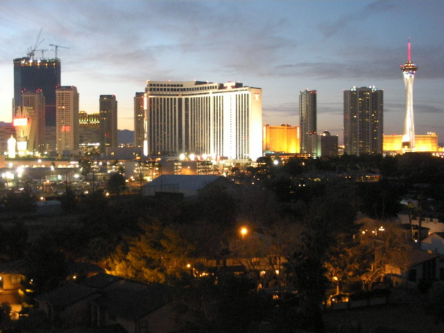 Great View of Las Vegas From Vacation Rental