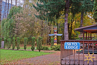 Skyo Lodge Vacation Rental Packwood Washington