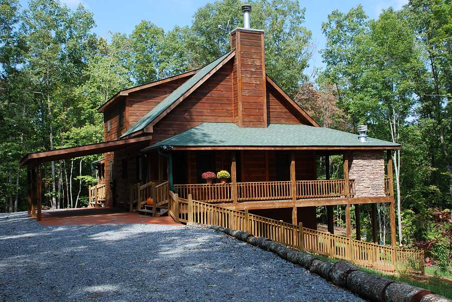 georgia mountains cabin rentals