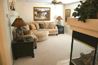 Another View of Living Room In Las Vegas Rental Property