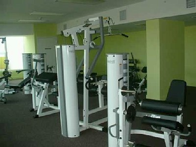 Gym At Vacation Rental