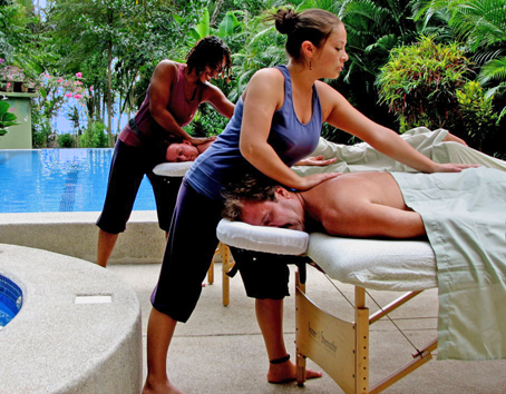 FREE Poolside Couple's Massage for 2 with every booking!