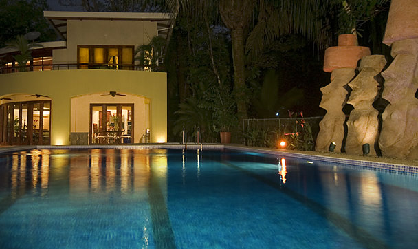 ...then return for a dip in your pool or Jacuzzi - a perfect end to the perfect day in paradise.