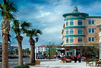 Downtown Myrtle Beach Vacation Rental Location